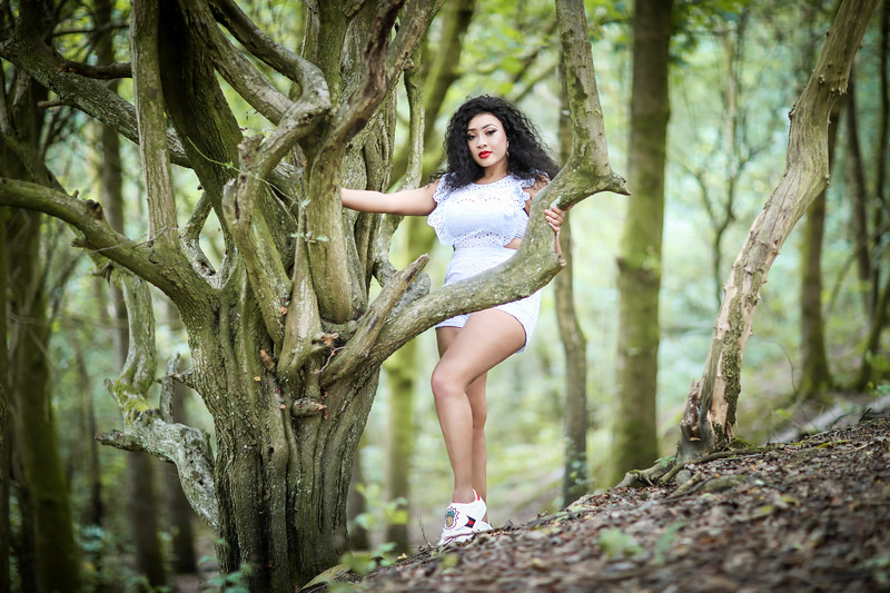 Outdoor fashion photography Warrington