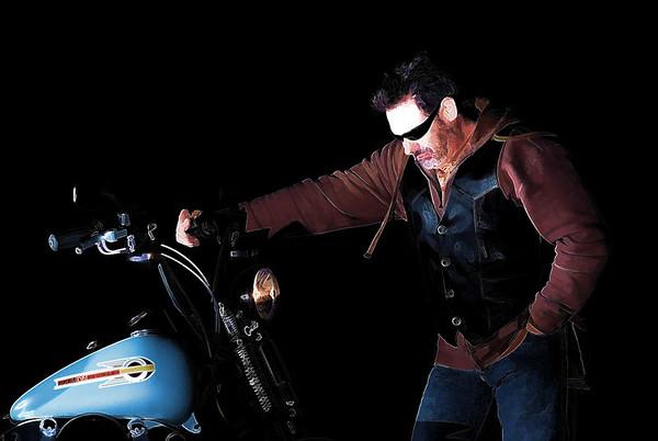 Sunset - Night Motorcycle Shoot