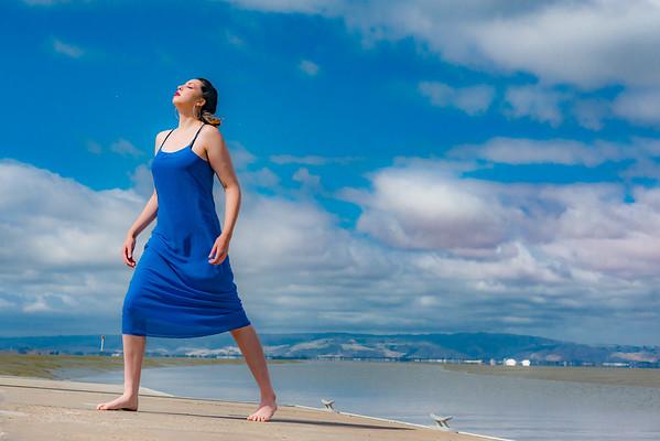 Malia - Blue Dress
