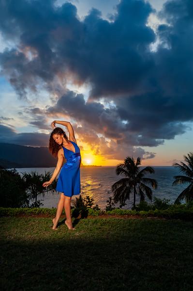 Amelia - Kauai Sunset Fashion