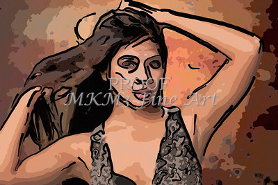 Implied Nude Girl Painting 1346.521