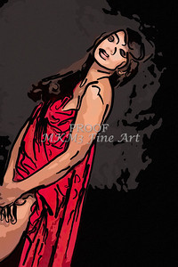 Implied Nude Girl Painting 1346.507