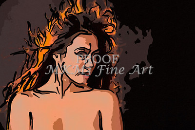 Implied Nude Girl Painting 1346.508