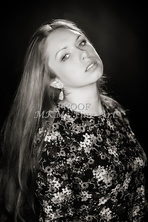 Amanda Spangler Head Shots Fine Art Prints from Modeling Portfolio 003.01