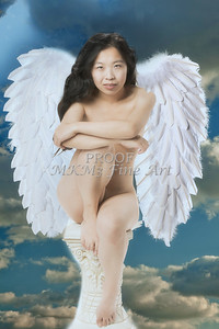 The Angel Implied Nude Girl Wall Art 1538.22