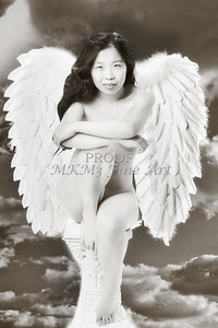 Implied Nude Girl the Angel 1538.23