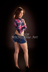 Mag Murderdoll Modeling Portfolio Art Print Photograph 3566.02