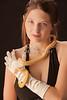 Raylynn Nation Model and Snake  002