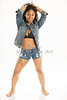 Neemah Soleil Modeling Portfolio Art Print Photograph 3580.02