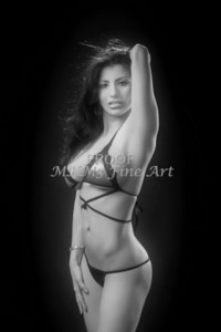 Pricilla Morales Modeling Portfolio Art Print Photograph 3594.02