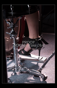 High Heels on Professional Model 1729.20