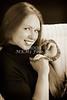Amanda Spangler Model and Snake  020