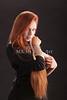 Amanda Spangler Model and Snake  005
