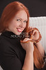 Amanda Spangler Model and Snake  009