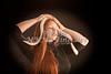 Amanda Spangler Model and Snake  025