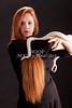 Amanda Spangler Model and Snake  003
