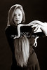Amanda Spangler Model and Snake  014