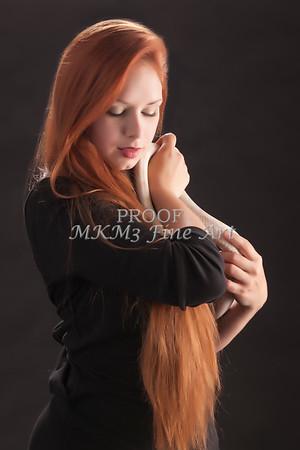 Amanda Spangler Model and Snake  004