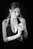 Snake Lady or Girl with Live Snake Photograph 5243.01