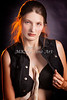 Snake Lady or Girl with Live Snake Photograph 5266.02