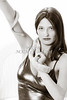 Snake Lady or Girl with Live Snake Photograph 5261.01