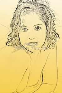 Implied Nude Girl Light Drawing 1334.304