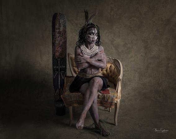 Katishma, African, tribal,