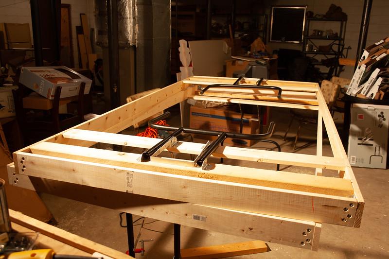 Module Leg Construction
