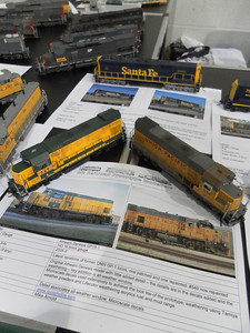 RPM table - Seaboard southern show, Horsham, 2012