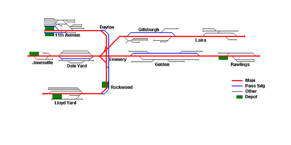 Planned track plan - as at 4/10/2012