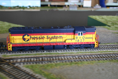 Chessie SD passing Emmery Crossing