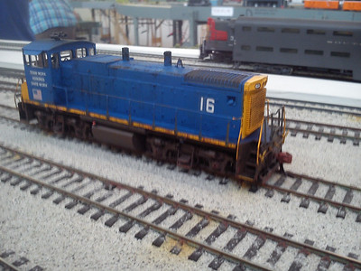 Under construction - future steelworks MP15DC switcher #16