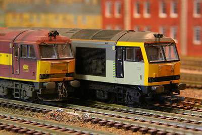 60089 & 60014 on barton Shed 26/12/11  These locos was visiting Barton