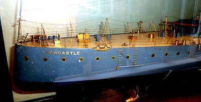 Builder's Model of HMS Newcastle