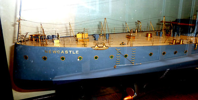 Builder's Model of HMS Newcastle