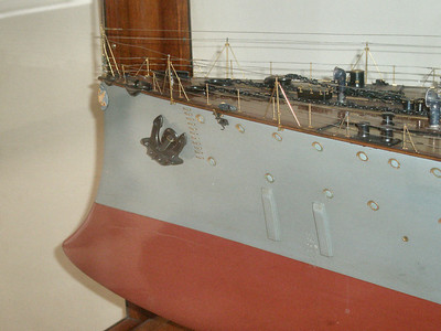 Builder's model of the Russian ship Rurik