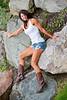 Rebecca On the Rocks - Photography by Pat Bonish/Bonish Photo