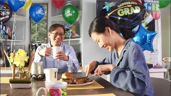 James Chu, Asian Chinese Actor, Family, Commercial