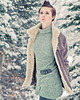 Ashlee's Winter Fashion Shoot in Little Cotton Wood Canyon