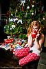 Amanda's Christmas morning look