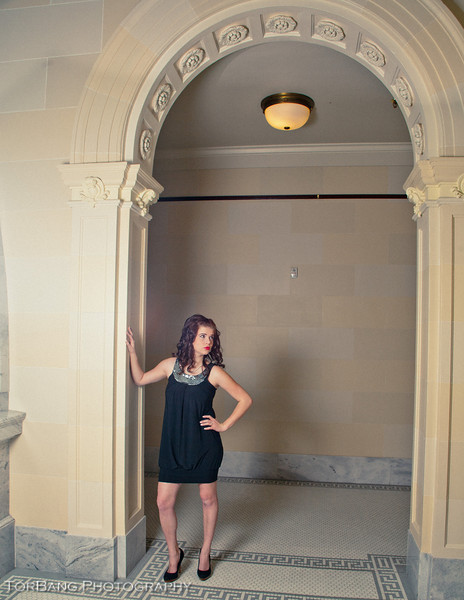 Model- Cait A fun shoot at the Utah State Capitol Building