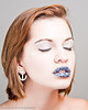 Lips Bedazaled Shoot MUA-Lauren Searle Model-Kira Lake