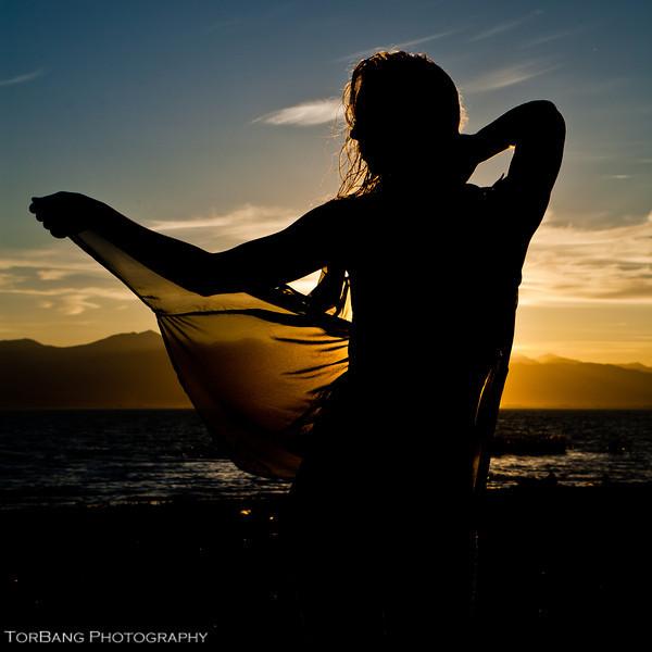 Sunset shoot at Utah Lake. Model Cali Nelson MUA/Hair Destiney Summers