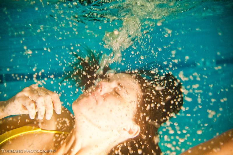 Underwater Shoot with Christina