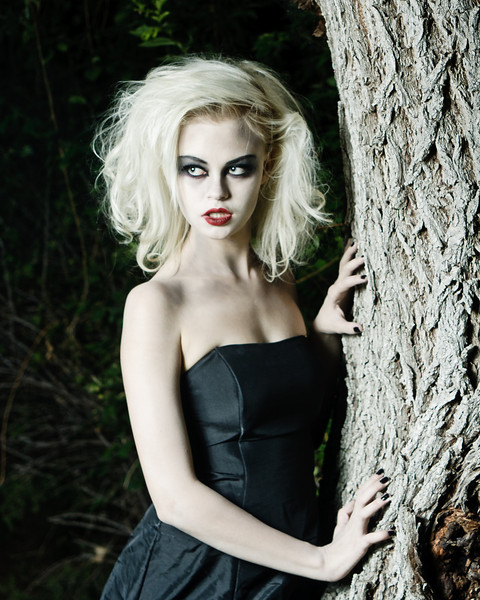 Vampire Shoot Model Fayth Daughton MUA Mckenna Read © Torbang Photography