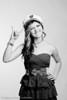 Hannah Capt Hat Shoot. Model- Hannah Gale