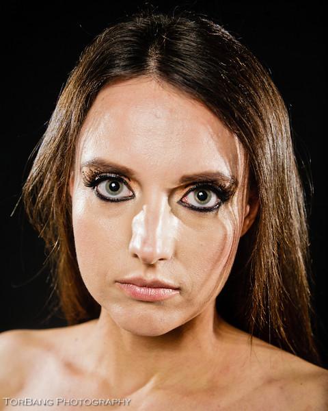 Leopard Eye - Model Liesa M - MUA Liz M - ©2012 Torsten Bangerter