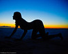 Madeline's Sunset - Great Salt Lake - © 2012 Torsten Bangerter