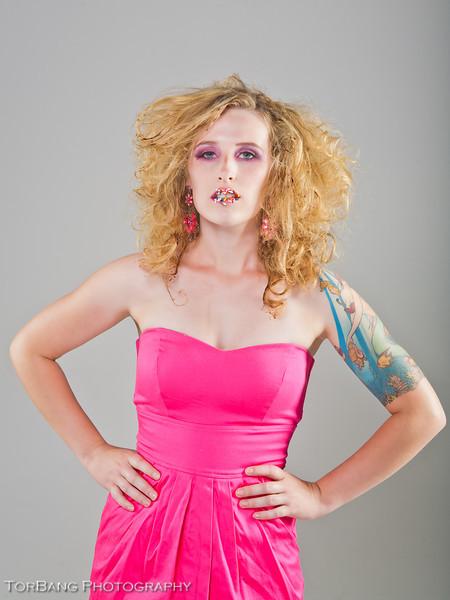 Seven Sins Shoot - Gluttony - Model Gentry Everill - MUA Lauren Searle - Hair Destiney Summers
