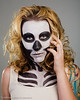 Skeleton Women Model- Gentry Everill MUA- Haley Davis